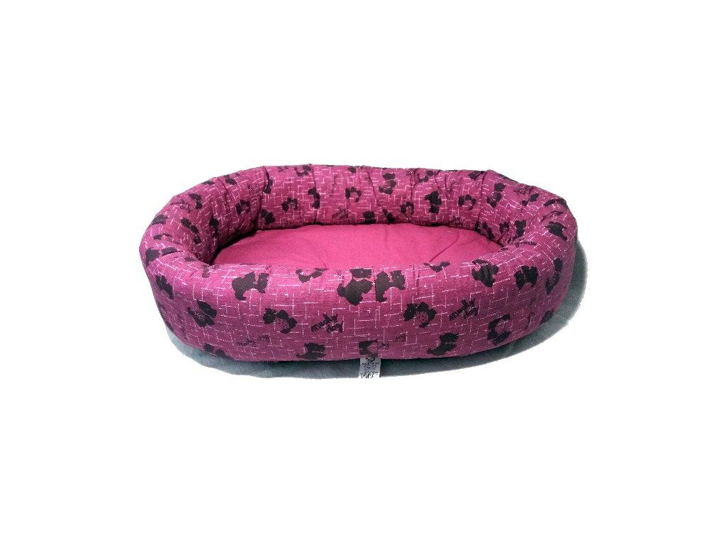 Sweet dream 60 růžový MUCKY dog