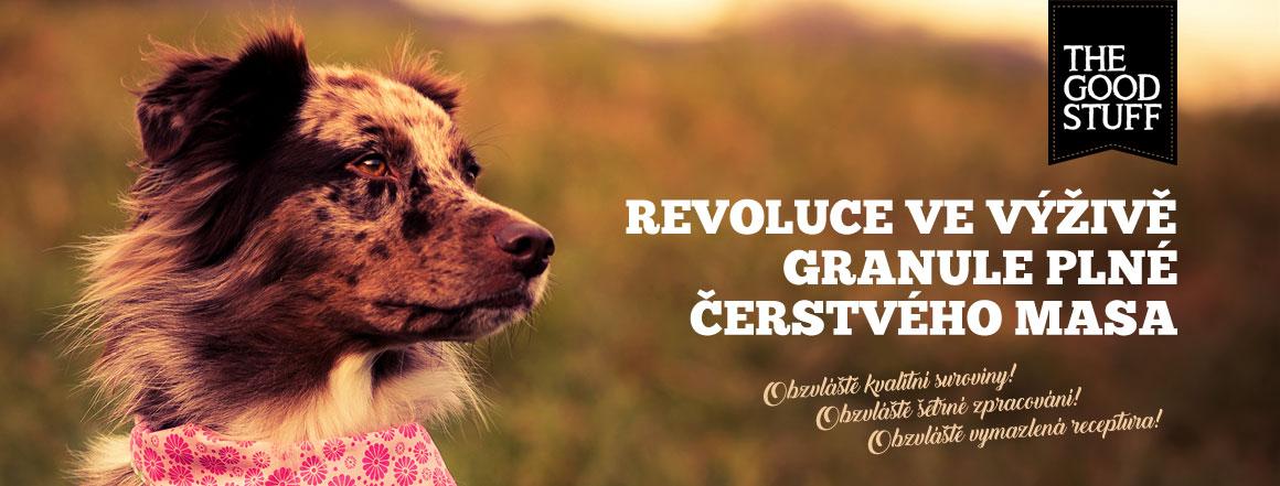 The Goodstuff - revoluční krmivo pro psy