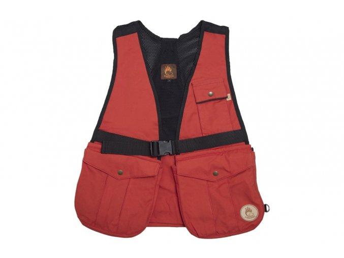 firedog hunter air vest brick red 01 39457