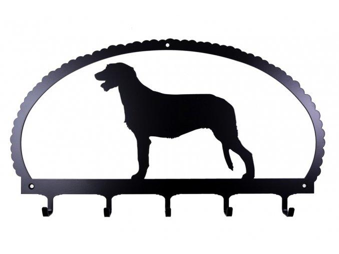 dog key rack irish wolfhound
