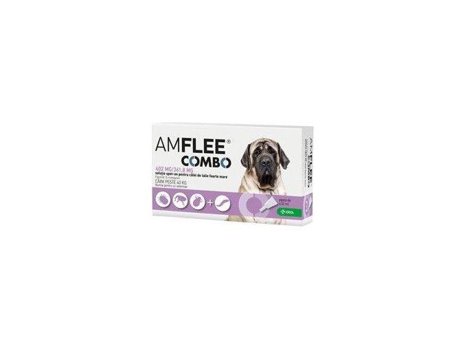 Amflee combo Spot-on pes obří 402/361,8mg sol 10pipet