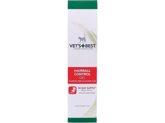 Vet's Best Anti-hairball gel pro kočky 100ml