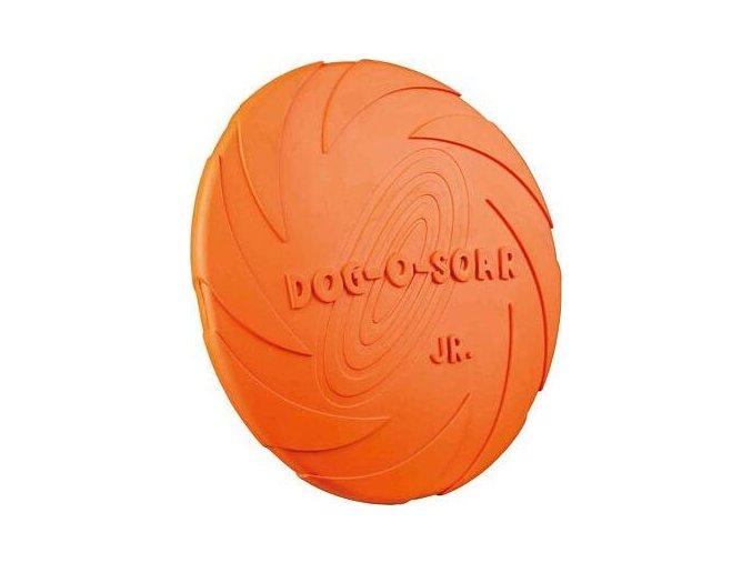 Létající talíř tvrdá guma malý 18cm