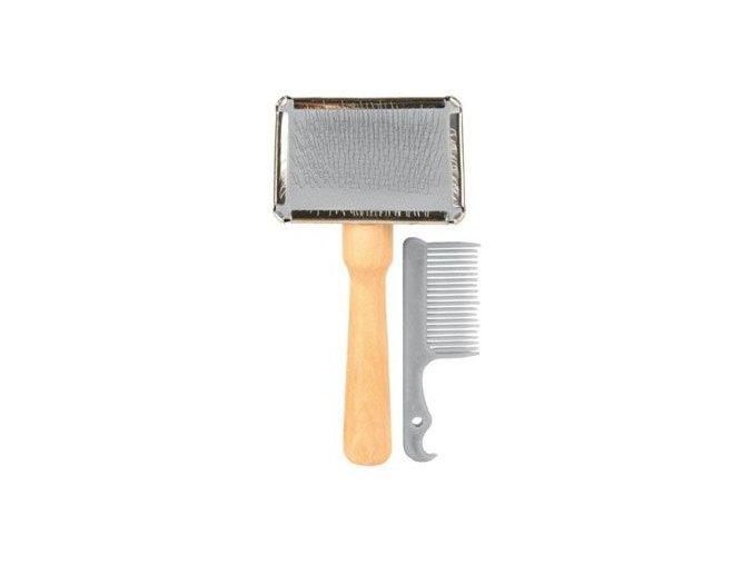Finišák malý, dřevěná rukojeť 6 x 13 cm