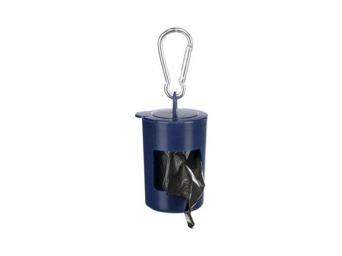 Pick up - plastový zásobník + sáčky na trus,2xrola á20 sáčků