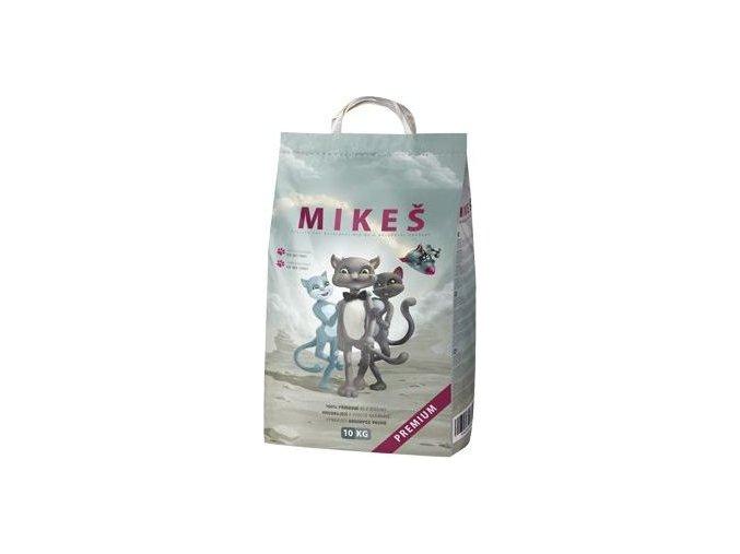 Mikeš bílý Premium Podestýlka kočka pohlc. pachu 10kg
