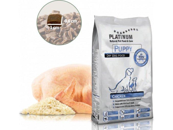 PLATINUM Natural PUPPY Chicken 5kg