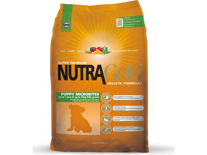 Nutra Gold Puppy Microbite 7,5kg