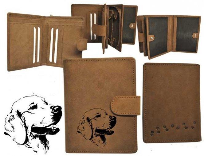 """dámská peněženka 11 """"pes záchranář"""""""