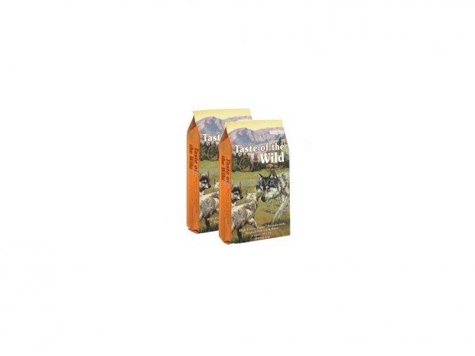 Taste of the Wild High Prairie Puppy 2x12,2kg