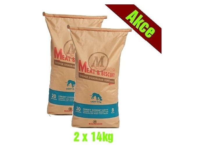 Magnusson Meat Biscuit LIGHT 2x14kg