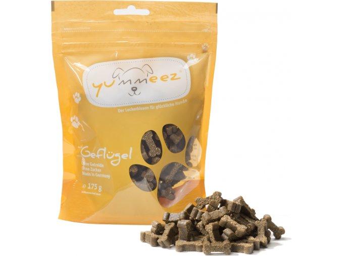 Kostičky Yummeez drůbeží bez obilovin – 175 g