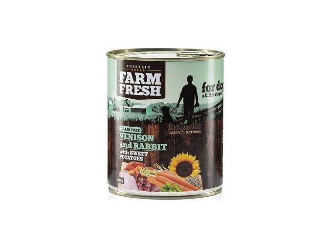 Farm Fresh Rabbit with Venison, Sweet Potato 800g