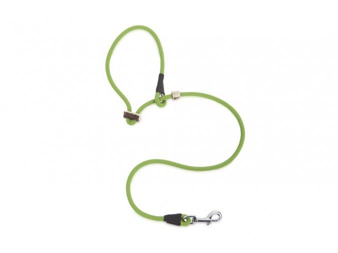 Firedog přídavný díl pro dalšího psa 8mm moxon se zarážkou světle zelený