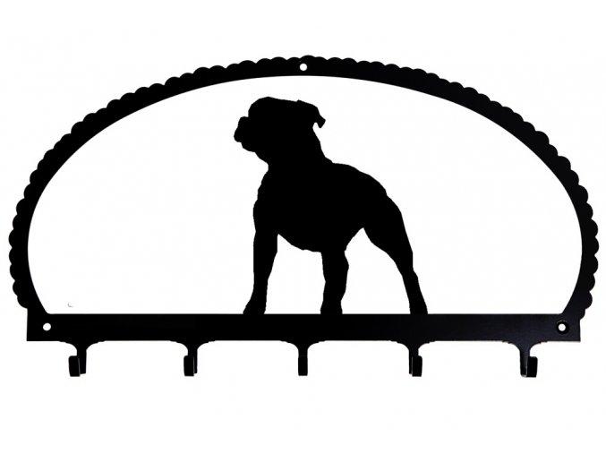 Věšák Stafordšírský bullteriér