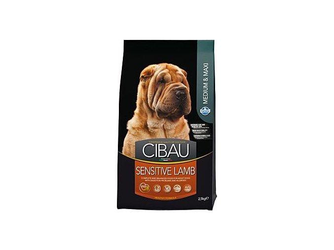 CIBAU Dog Adult Sensitive Lamb&Rice 12kg