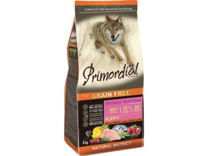 Primordial Puppy Chicken & Sea Fish 12kg