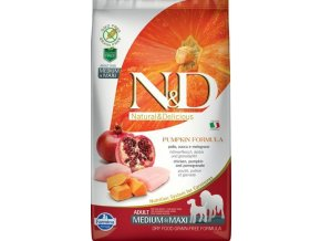 N&D Grain Free Pumpkin DOG Adult M/L Chicken&Pomegranate 2,5kg