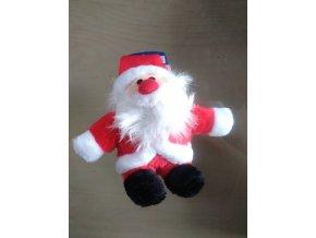 Vánoční plyšový santa 18cm
