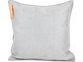 Aminela polštářek 40x40cm šedá