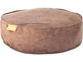 Kulatý pelíšek Aminela Full comfort 50/12cm hnědá