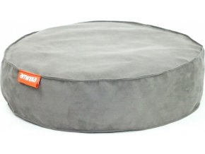 Kulatý pelíšek Aminela Full comfort 50 12cm šedá