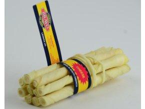 Tyčka z hovězí kůže Cheese 10ks – sýr – 14 cm
