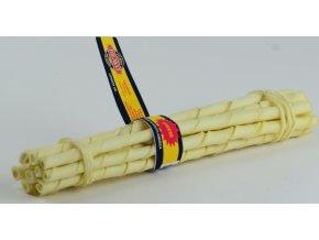 Tyčka z hovězí kůže Cheese 10ks – sýr – 25 cm