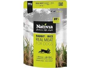 Nativia Real Meat Rabbit&Rice 8kg