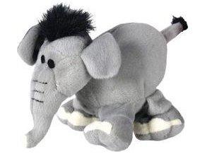 Hračka pes ZOO Park slon plyš 16 22cm