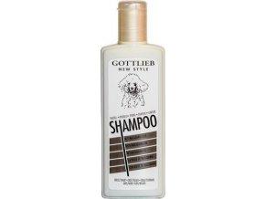 Gottlieb Pudel šampon 300ml-pro černé pudly s norkovým olej