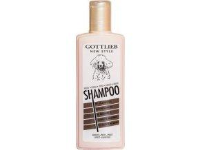 Gottlieb Pudel šampon 300ml-pro pudly aprikot s norkovým ole