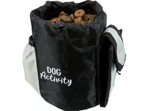 Dog on Tour Baggy nylonová taštička na hračky 10x15cm