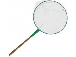 Síťka - podběrák, bílá 20cm, bambusová tyč 1,40 m TRIXIE