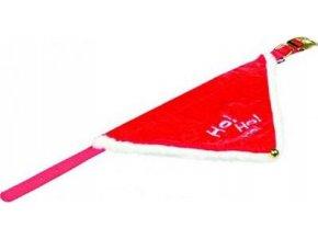 Vánoční šátek pro psa 45-55cm/20mm M-L TR 1ks