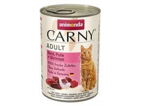ANIMONDA konzerva CARNY Adult - krůta, ráčci 400g