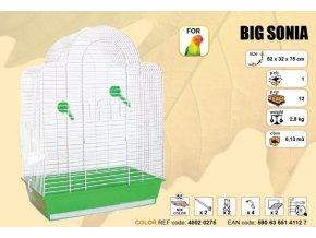 Klec BIG SONIA - bílá 520x320x750mm
