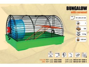 Klec BUNGALOW 370x250x210mm