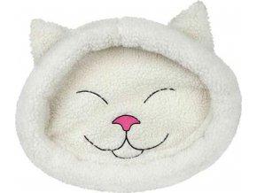 Pelech MIJOU kočičí hlava béžová 48x37cm TR