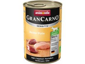 GRANCARNO Sensitiv čisté krůtí 400 g