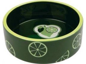 Fresh Fruits keramická miska 0,8 l/16 cm - tmavě zelená
