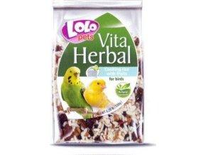 LOLO - VITA HERBAL instantní rýže s ovocem pro ptáky 130g