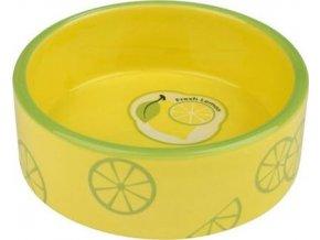 Fresh Fruits keramická miska 0,8 l/16 cm - žlutá