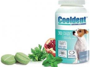 Cooldent žvýkací tabl.pro psy k osvěžení dechu30tbl