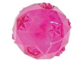 Hračka pes míček TRP BALL 6cm růžová Zolux
