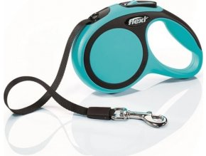 Flexi New Comfort XS pásek 3 m, max. 12 kg - modrá