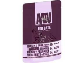 AATU Cat Chicken n Quail kaps. 85g