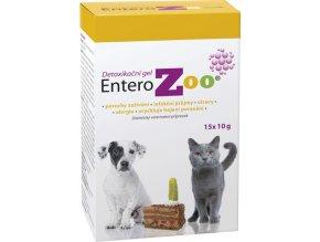 Entero ZOO detoxikační gel 15x10g