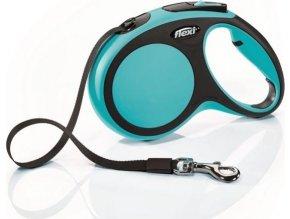 Flexi New Comfort M pásek 5 m, max. 25 kg - modrá