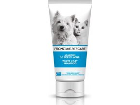 Frontline PET Care Šampon na bílou srst 200ml